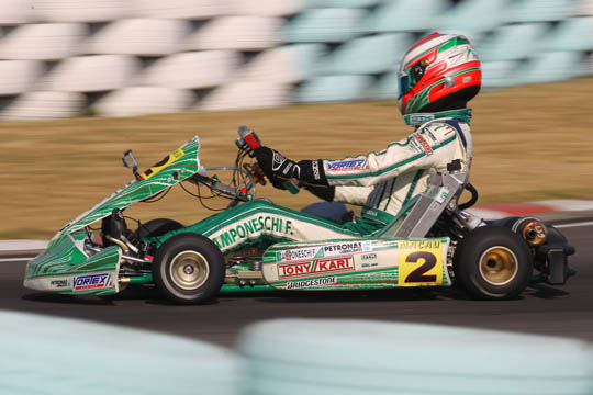 Camponeschi takes the 18th World Championship to Tony Kart-Vortex