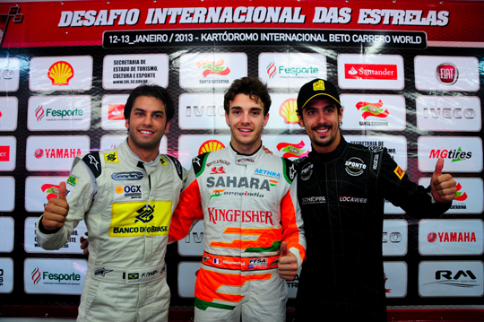 Bianchi wins All Star Challenge 2013