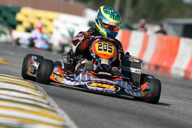 Mike Vincec impresses in Team PSL Karting debut