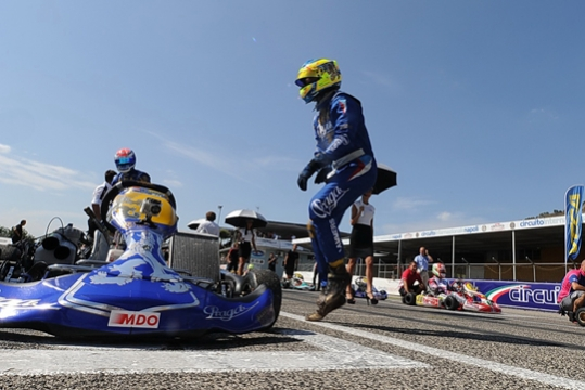 Praga Kart Racing Team and driver Bas Lammers part ways