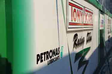 PETRONAS LUBRICANTS and TONY KART