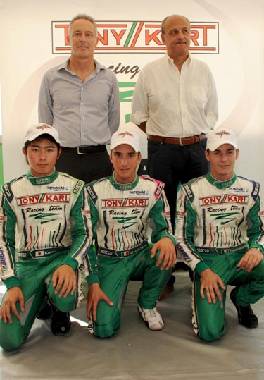 PARTNERSHIP PETRONAS - TONY KART RACING TEAM