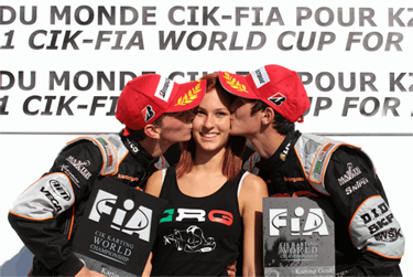 CRG-‐MAXTER CONQUERS THREE PODIUMS IN THE WORLD CHAMPIONSHIP IN BELGIUM THANKS TO LENNOX AND TIENE IN KF1 FORE' AWESOME IN KZ1, TORSELLINI OK IN KZ2
