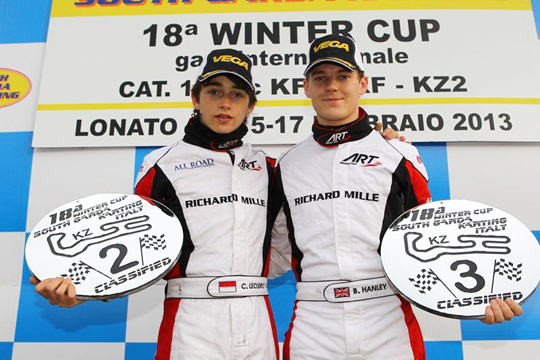 Winning spell for ART Grand Prix in freezing Lonato