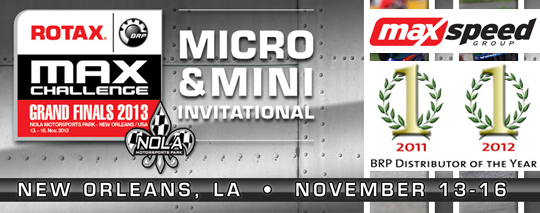 Micro & Mini categories to support the Rotax Grand Finals