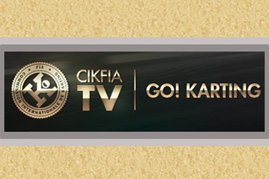 Television coverage of CIK-FIA events