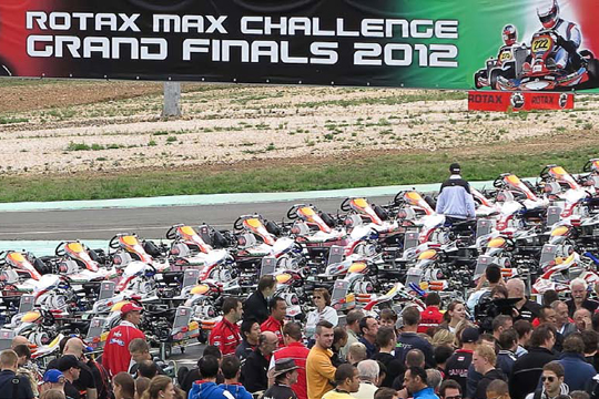 Official partner of Rotax Grand Finals