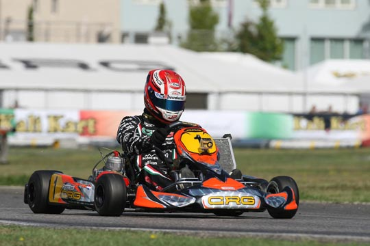 Crg At The First Appointment Of The Season In La Conca, For The Opening Event Of The Wsk Master Series