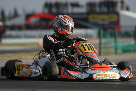Crg Official Team At The 18th Winter Cup. Verstappen Races In Kf After His First Win In KZ2.