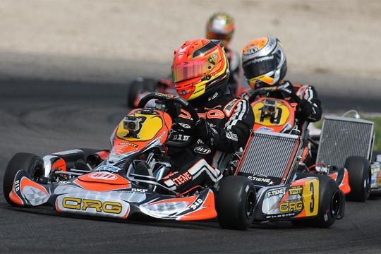 CRG storms in Macau! In the last round of the World KF1 Championship