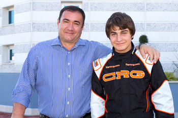 Mirko Torsellini, the young driver from Siena, joins the CRG-Maxter official team
