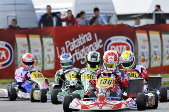 Beautiful victory by De Conto in KZ2 in Sarno