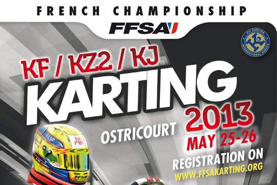 A new look for karting championships in 2013