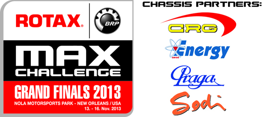 Rotax Grand Finals New long-term chassis partners in 2013
