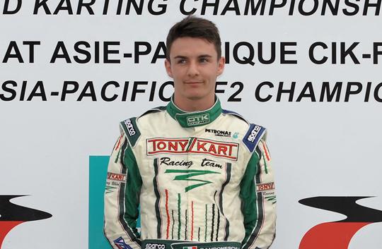 Camponeschi is 2012 World Champion