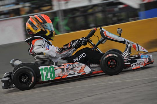 Prato in action with IPK at SuperNationals