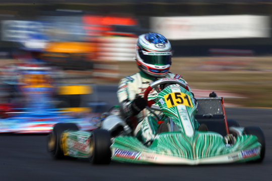 Tony Kart-Vortex wins in KF Junior class with Lorandi