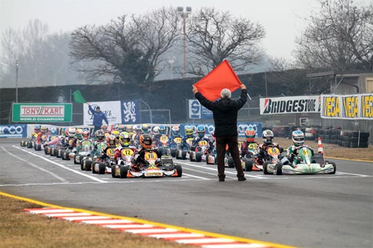 280 Entrants for the 18th Winter Cup of Lonato for a promising beginning of season