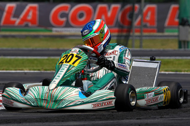 TONY KART RACING TEAM: WORLD CHAMPIONSHIP KF1 CATEGORY AND EUROPEAN CHAMPIONSHIP KF2 CATEGORY IN ZUERA