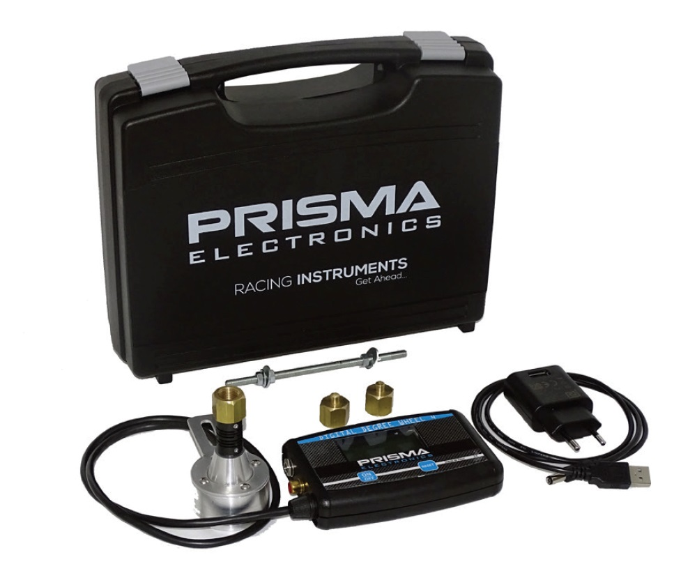 Complete kit Digital degree whell 4 Prisma Electronics