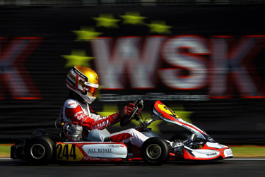 ART Grand Prix and Leclerc close to clinching the WSK Euro title Last