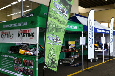 Aussies promote Karting at V8 Supercars venue
