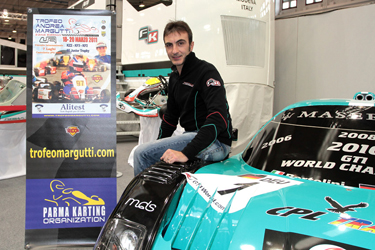 The four-time FIA GT World Champion Andrea Bertolini endorses the 22nd Andrea Margutti Trophy