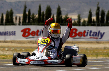 ART Grand Prix and Charles Leclerc conquered the WSK Euro Series championship in Zuera