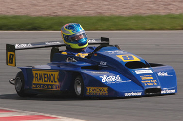 Bennett is aiming at a fourth European Superkart Title