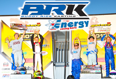 Buddy Rice Karting drivers win races and lock up championships in early season action