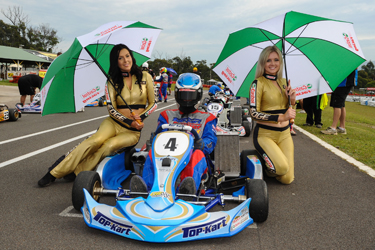 HILL AND HAYS TAKE MAIDEN STARS OF KARTING WINS