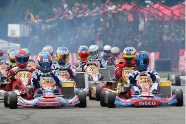 A Real Festival For 125cc Gearbox Karts!