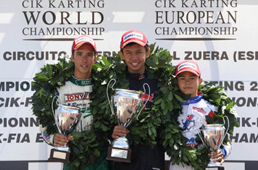 KF1 Victories for De Vries and Albon