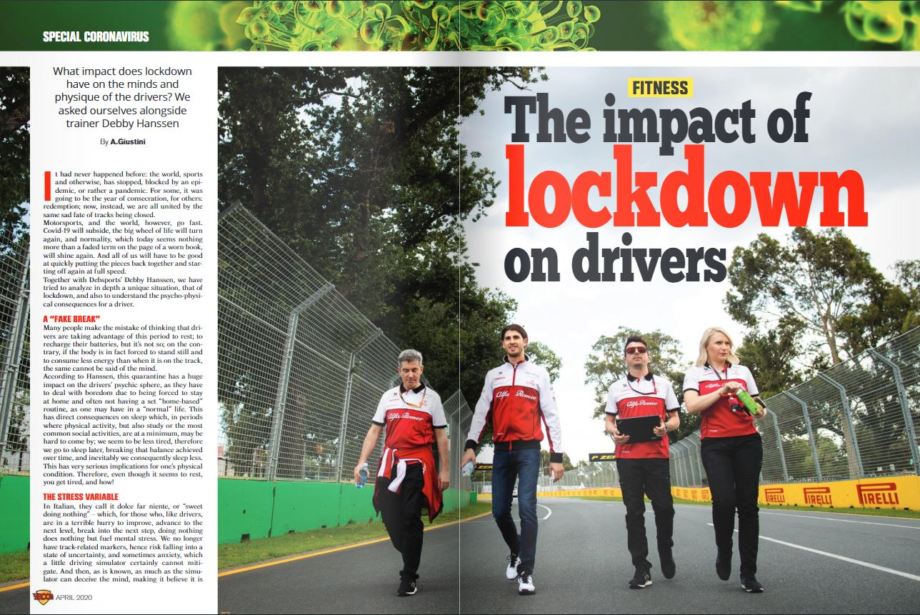 The impact of Lockdown on drivers