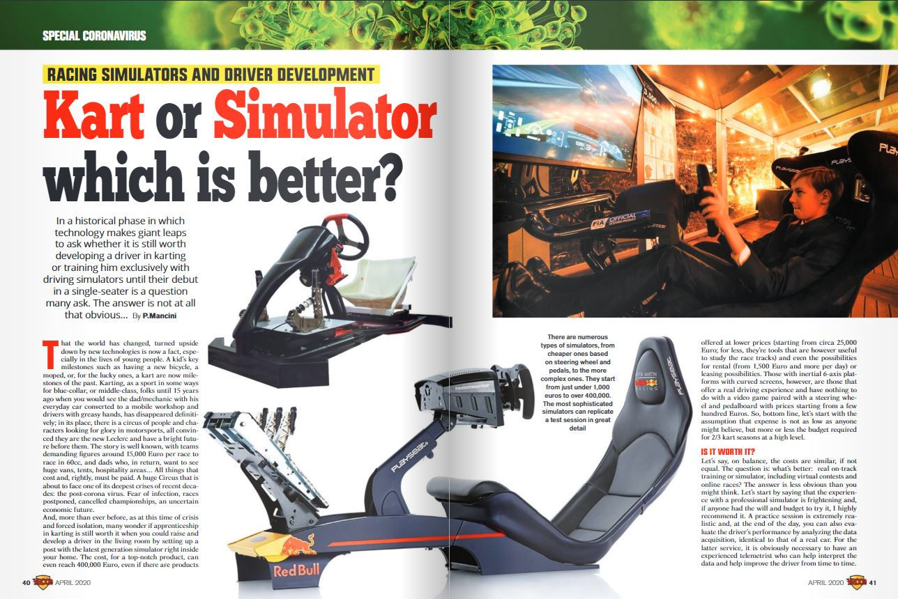 Kart or Simulator which is better?