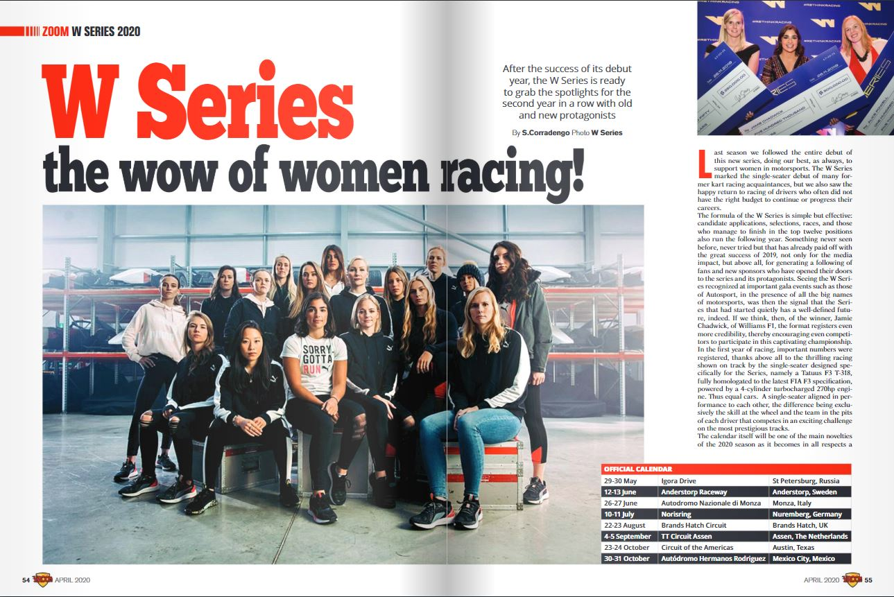 W Series the wow of women racing