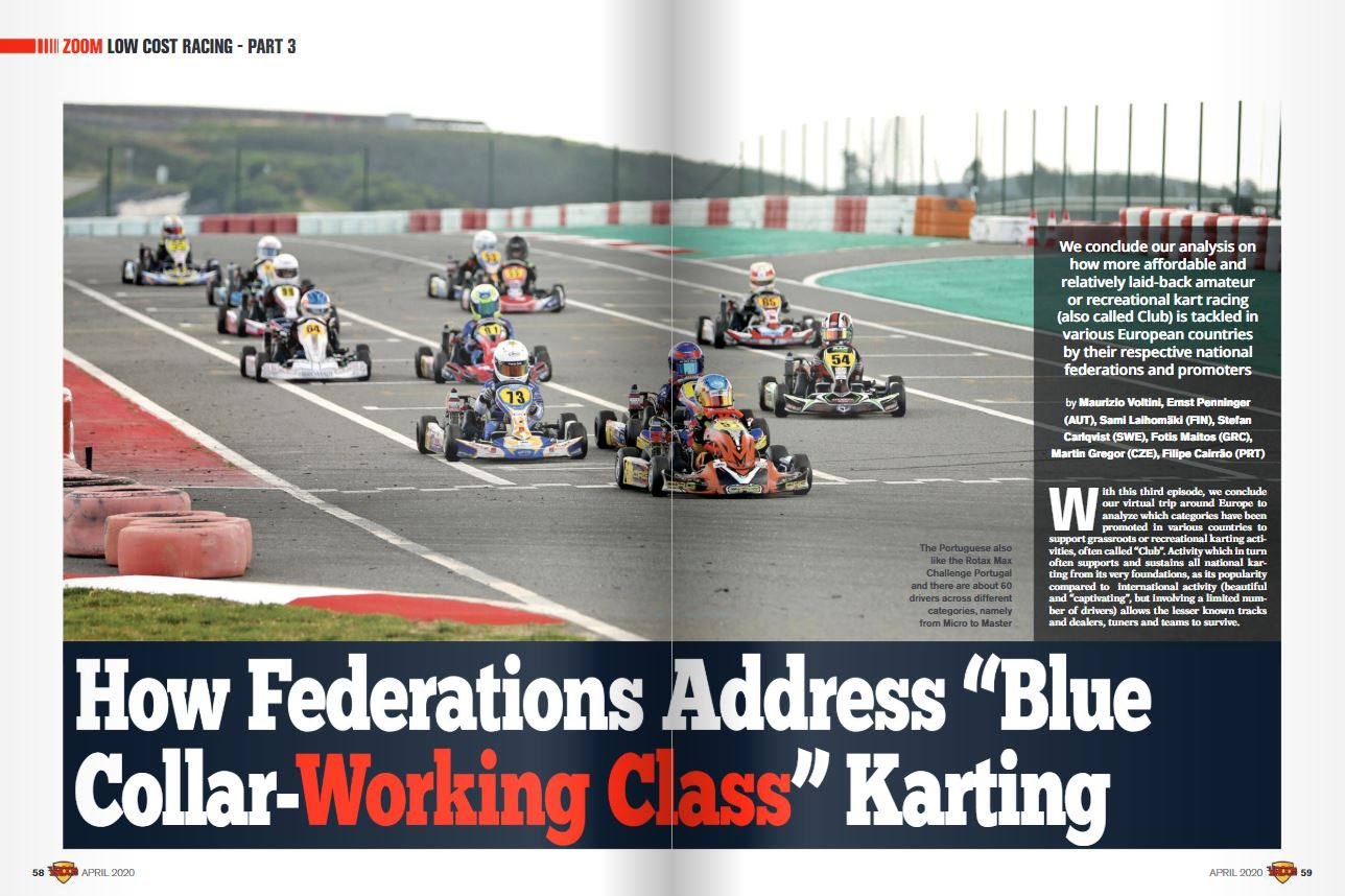 "How Federations Address ""Blue Collar Working Class"" Karting"