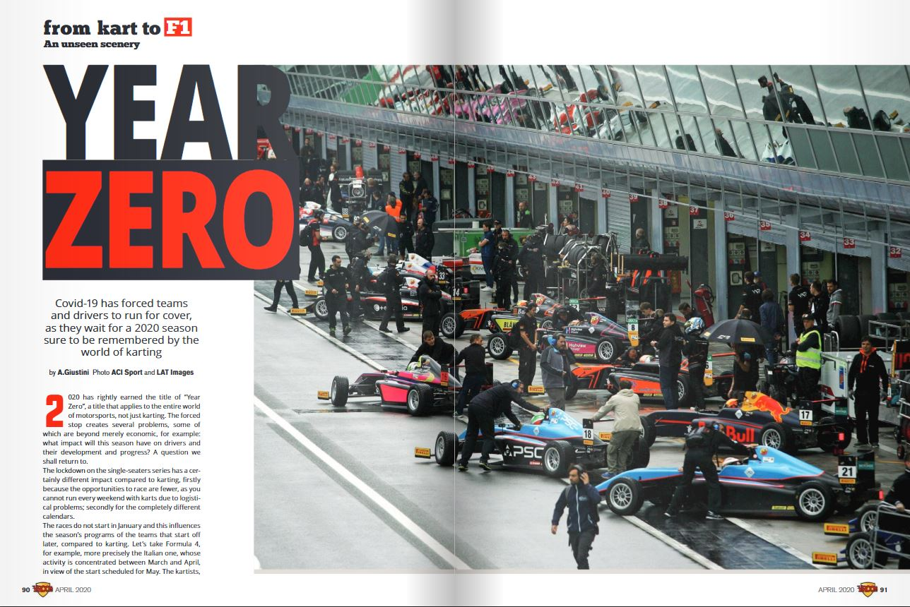 From Kart to F1: YEAR ZERO