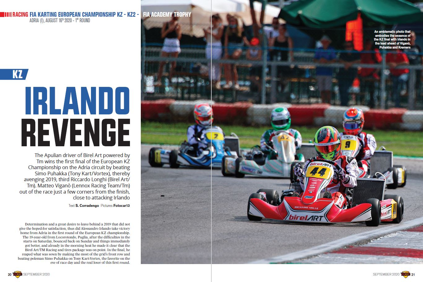 Racing - Fia Karting