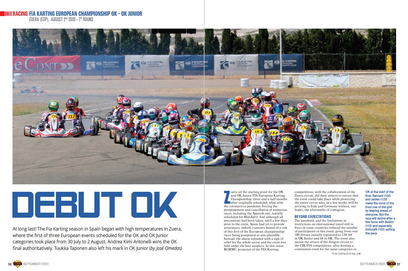 Racing - Fia Karting OK OKJ