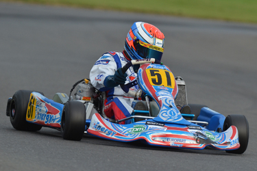 Jupp and Piccini on front row at the European KF3 Championship