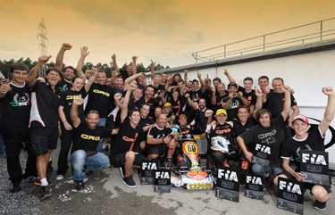 World Title for Thonon and 7 podiums for CRG at Genk!