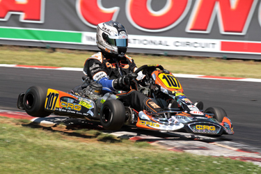 CRG GETS IMPORTANT TECHNICAL DATA AFTER THE DEMANDING THIRD APPOINTMENT OF THE WSK EURO SERIES OF MURO LECCESE