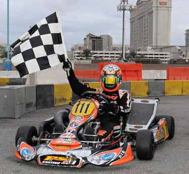 CRG ACHIEVES SUCCESS THANKS TO MIRKO TORSELLINI IN THE THRILLING RACE OF LAS VEGAS IN S1