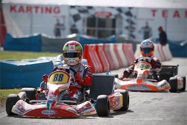 KZ World Cup test days in Sarno