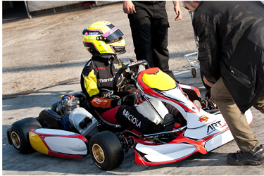 First outing for Art Grand Prix Team