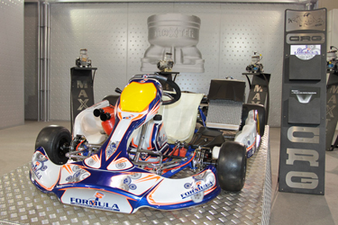 GREAT INTEREST FOR THE CRG STAND AND FOR ALL ITS RANGE OF PRODUCTS AT THE KART AND RACE FAIR OF MONTICHIARI