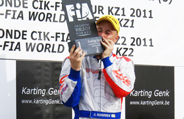 2011 KZ2 World Cup winner - Who is Joey Hanssen?