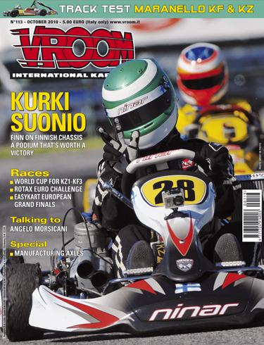Vroom N 113 October 2010 Kart News
