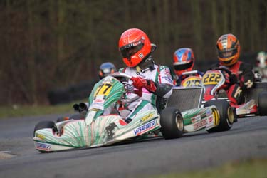 Michael Schumacher highly satisfied with the Racer EVRR